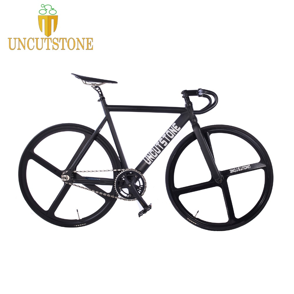 Track Bicycle  Fixie Bike Frame 53cm 55cm 58cm  700C  Aluminum Alloy Fixed Gear Bike  Magnesium Alloy Wheel Bike