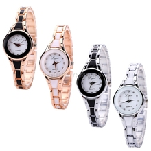 Womens Watch Fashion Stainless Steel relogio feminino Luxury Bracelet Analog Quartz Wrist Watch