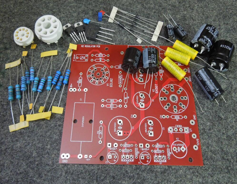 AudioNote L2 amplifier board