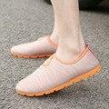 No Verão de 2017 Novos homens Sapatos Casuais Sandálias, Tendência da moda Coreano, respirável Malha Dupla, Sweat-Absorvente