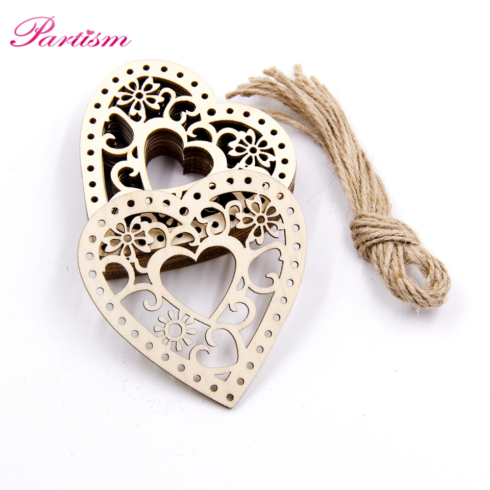 10pcs wooden hollow heart carved flower christmas pendants ornaments 10pcs wooden hollow heart carved flower christmas pendants ornaments christmas party gift decoration xmas tree ornaments supplie in pendant drop ornaments aloadofball Image collections