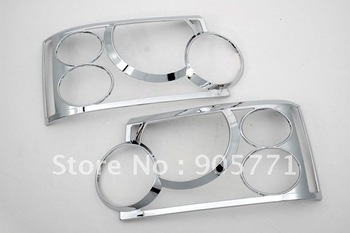 High Quality Chrome Head Light Cover for Range Rover HSE 03-09 Free Shipping