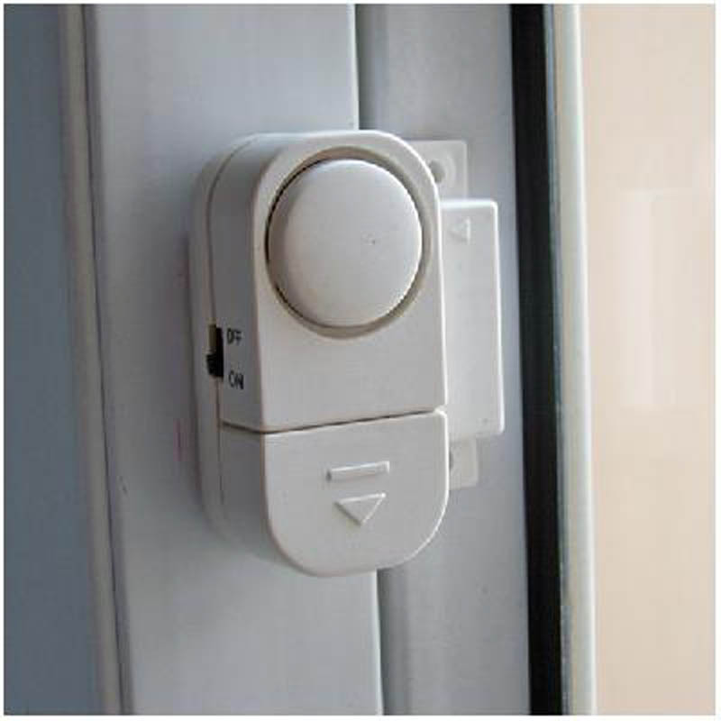 Wireless Anti-Theft Door Window Security Alarms Entry Burglar Safety Guardian Protector HJ55