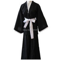 Cartoon Anime Bleach Cosplay Costume Bleach Soul Reaper Captain Unisex Costumes for Halloween party