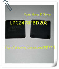 2PCS/LOT LPC2478FBD208 LPC2478FBD LPC2478 PQFP-208 New original