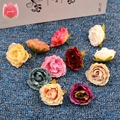 Wholesale 100pcs Blooming Peony Cloth Artificial Flower For Wedding Party Home Room Shoes Hats Decoration Marriage Silk Flower