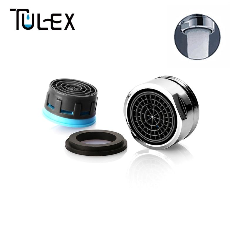 Special offer Water Saving Faucet Aerator 8L Crane Nozzle Attachment Spout Bubbler Tap Filter Accessories Male Thread 24MM