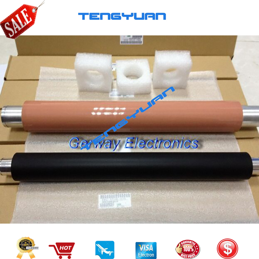 Free shipping Original OEM NEW Upper Fuser Roller and Lower Pressure Roller RB2-5948 & (One Set) For LJ 9000/9050/9040 free shipping lower sleeved roller lpr 9500 fuser pressure roller for hp9500 printer