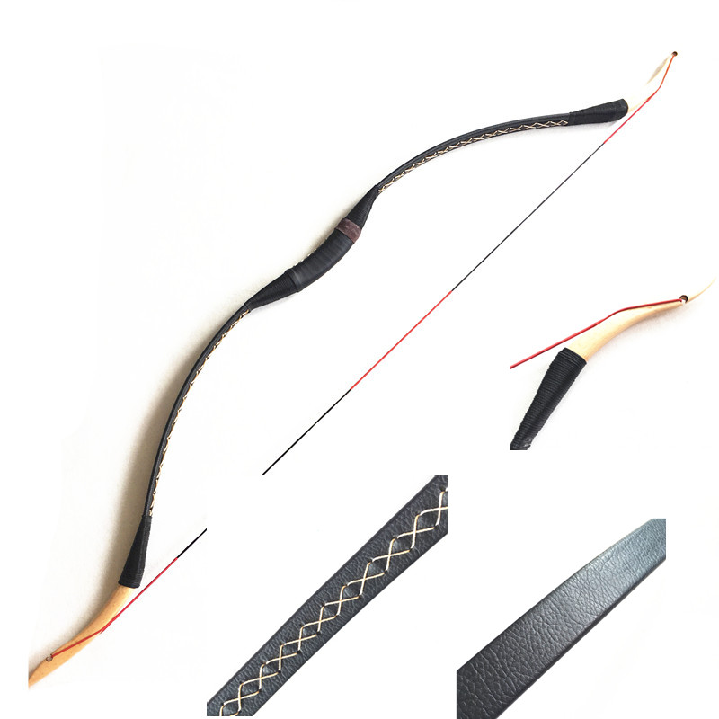 NEW 20 50IBS Practice Archery Hunting Traditional Handmade Recurve Bow Longbow  Shooting Hunting   Bow-in Darts from Sports & Entertainment    3