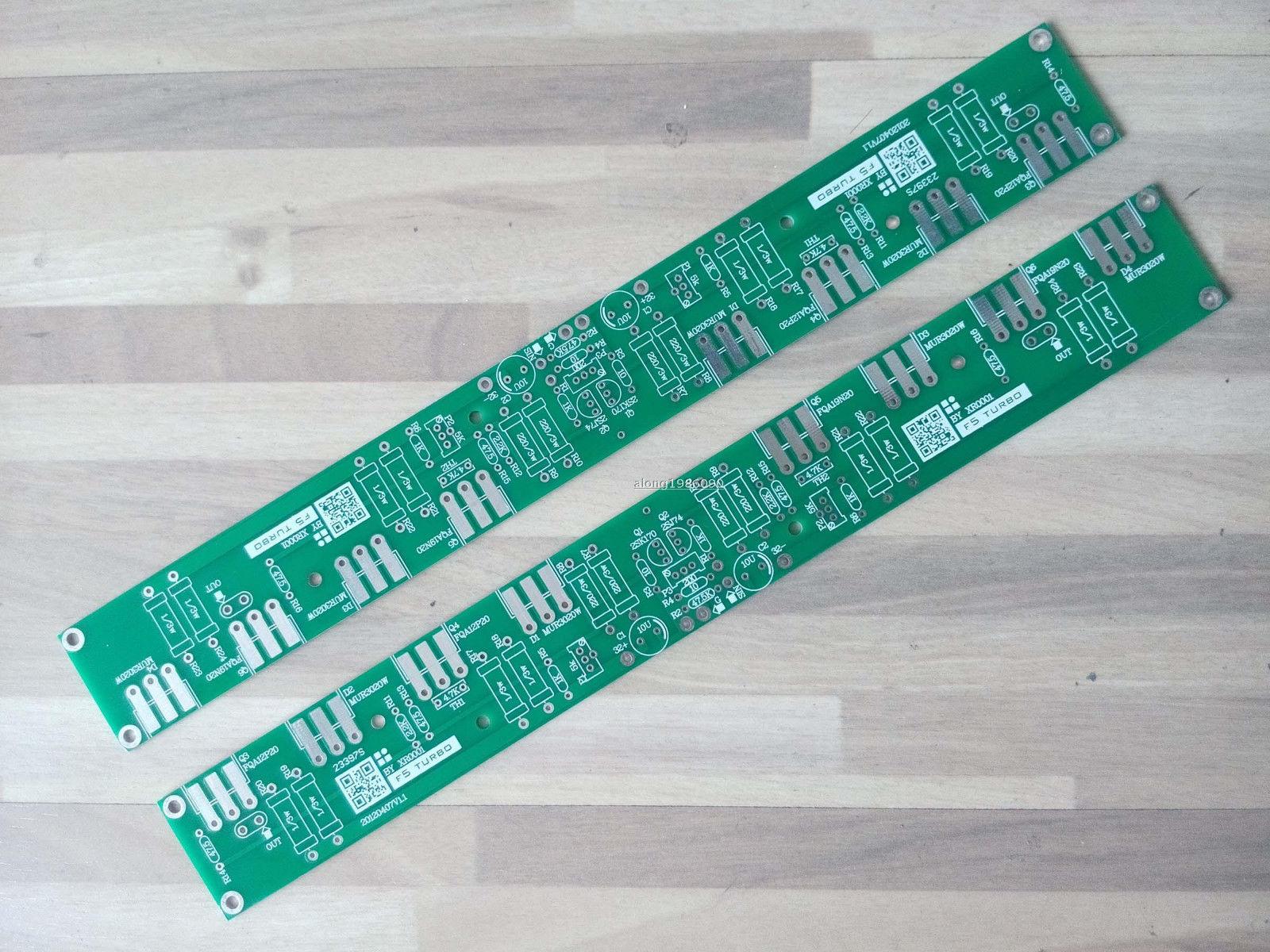 Une Paire CLONE PASSER F5 TURBO Amplificateur Nu PCB (2 Canal)