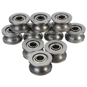 10pcs/Set U624ZZ U Groove Seal