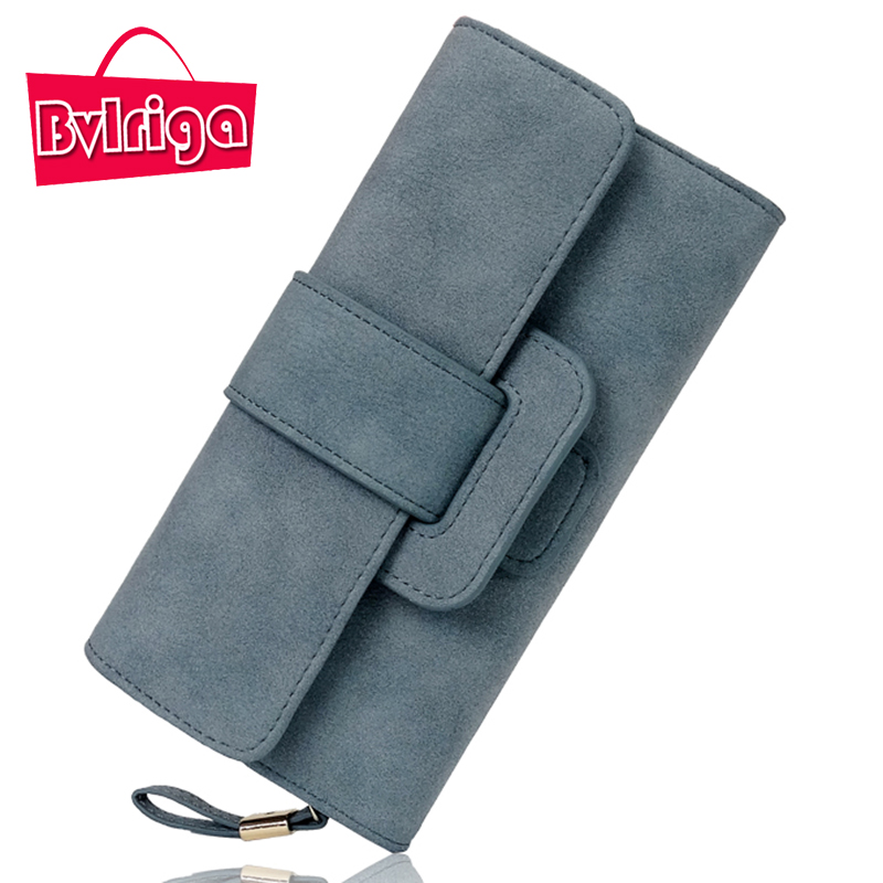 BVLRIGA Long Ladies Leather Wallet Women Wallets And Purses Wallet For Credit Card Holder Female Coin Purse Clutches Women Walet women leather wallets v letter design long clutches coin purse card holder female fashion clutch wallet bolsos mujer brand