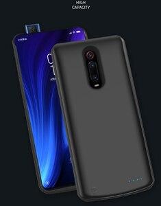 Image 2 - 5000 mAh chargeur de batterie pour Xiaomi Redmi K20 Pro Portable voyage charge batterie externe housse de téléphone ForRedmi K20 Pro Capa