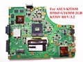 Для ASUS K53SM Материнская Плата Ноутбука K53SV REV: 3.2 HM65 GT630M 2 ГБ DDR3 100% Тестирование Быстрый Корабль