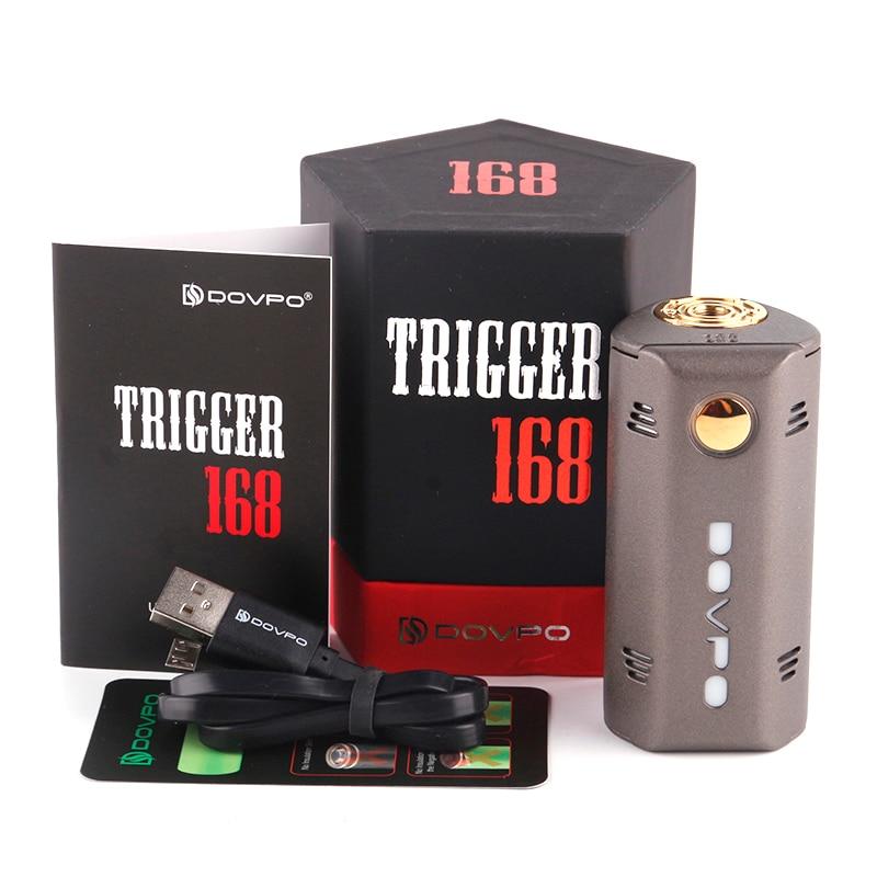 DOVPO TRIGGER 168W BOX MOD Dual 18650 No Battery 0.96