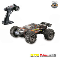 EBOYU 9136 2.4Ghz 1:16 Scale 4WD RC Car 36KM/H High Speed Big Feet Car Off Road Monster Remote Control Car RTR Random Color