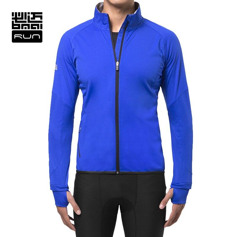BMAI Winter Man Warm Running Jacket Fitness Woman Wind-proof Outdoor Sports Clothing Wear Wind Coat Long Sleeve Jacket Lovers