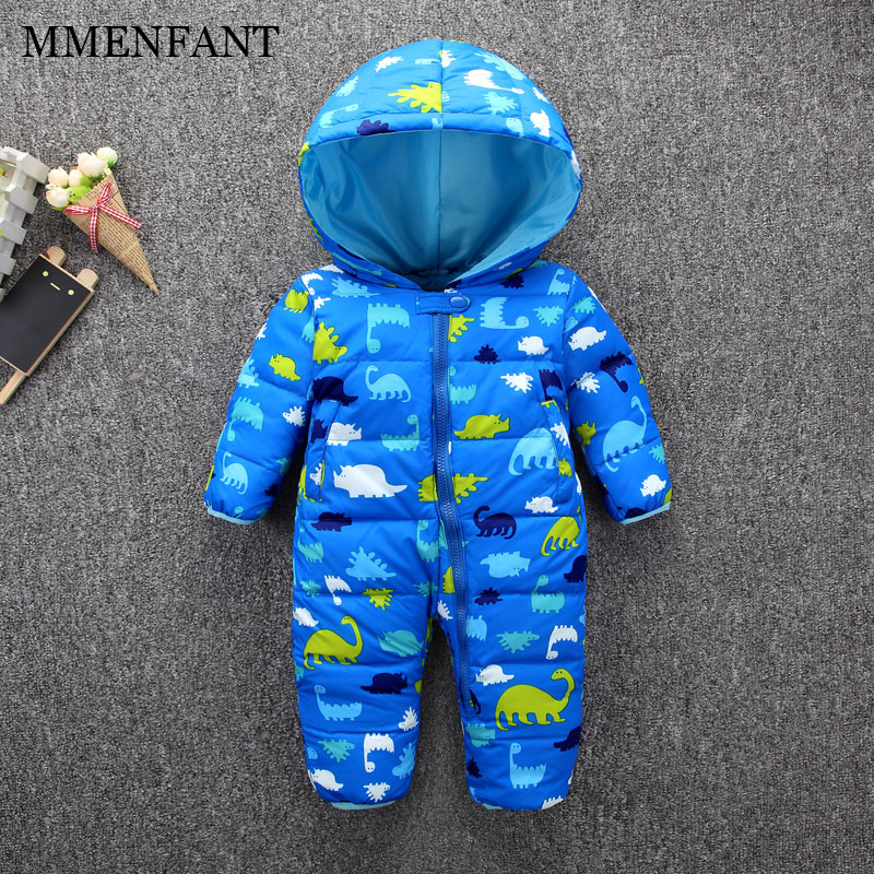 New 2017 Winter Baby Rompers Clothes Long Sleeved Coveralls for Newborns Boy Girl Cartoon dinosaurs snowsuit Baby Clothing sets cotton baby rompers set newborn clothes baby clothing boys girls cartoon jumpsuits long sleeve overalls coveralls autumn winter