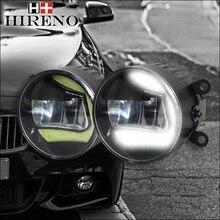 Hireno LED DRL światła dzienne światło Przeciwmgielne dla Toyota Prius 2009-2015, top super jasne, 2 sztuk + przewód uprzęży
