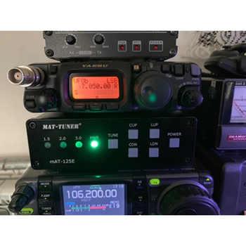 Lusya magnetic hold version mAT-125E mAT125E HF Auto-tuner 120W AUTO TUNER Automatic Antenna Ham Radio T0209