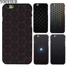 Hot sales of hives Black Hard Shell For Apple iphone 4 4s 5 5s SE 5c 6 6S 6PLUS 7 7PLUS 8 8PLUS X(China)