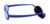 ZBZ Niños Marco De Los Vidrios Niños Correa de Fibra de Carbono Azul Oscuro Material Irrompible Gafas Flexibles Gafas de Lente Transparente con el Caso