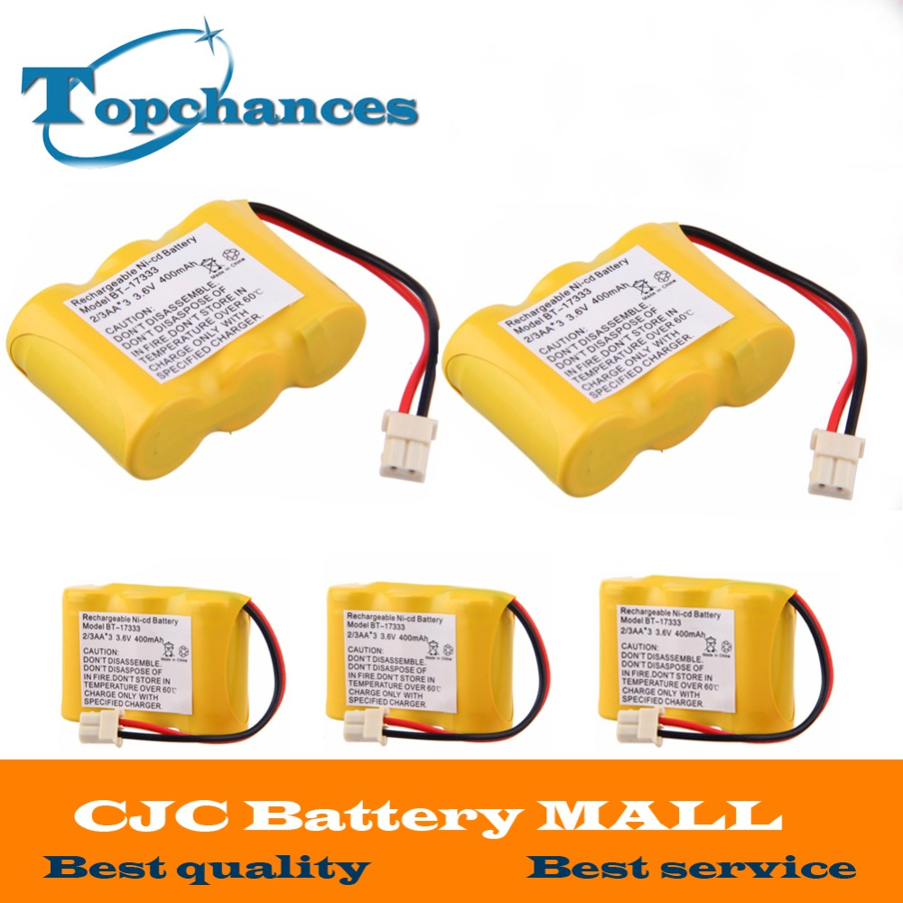 5pcs High Quality Battery For Vtech BT-17333 BT-27333 Battery For CS2111 CS5111 CS5121 Home Cordless Phone free shipping