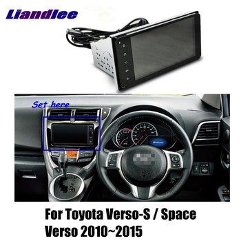 Z systemem Android 8 1 dla Toyota Verso-S Space Verso 2010-2015 Radio samochodowe nawigacja GPS NAVI nawigacja mapa ekran dotykowy HD telewizor z dostępem do kanałów multimedialnych tanie i dobre opinie Liandlee CN (pochodzenie) 1024x600 bluetooth Mp3 mp4 Nadajnik FM Telefon komórkowy Tuner radiowy Pojazdów gps jednostki i sprzęt