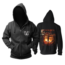 Bloodhoof BLACK VEIL BRIDES band Post hardcore ROCK death METAL black  cotton hoodie Asian Size