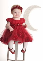 EMS DHL Free 2017 Summer Style Baby Girls Kids Flowers Princess Dress Kids Children S