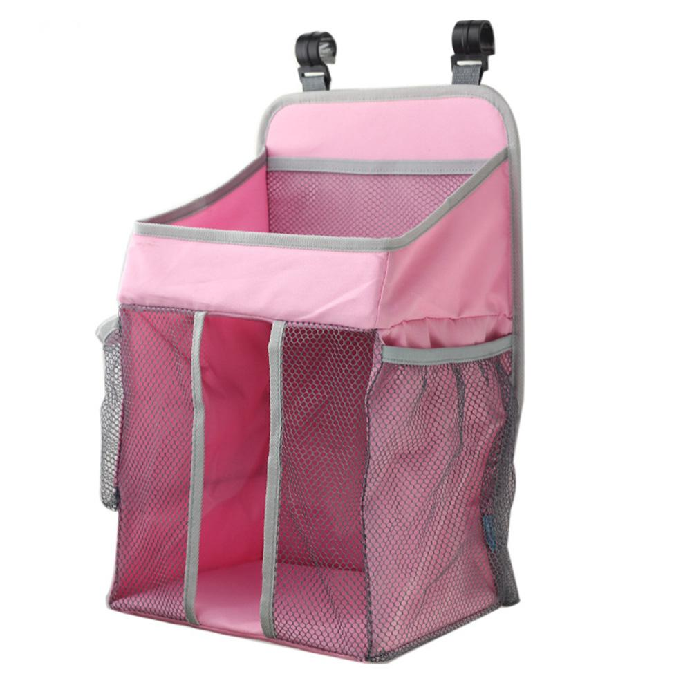 Portable Baby Crib Organizer Bed Hanging Bag For Baby Essentials Diaper Storage Cradle Bag Bedding Set