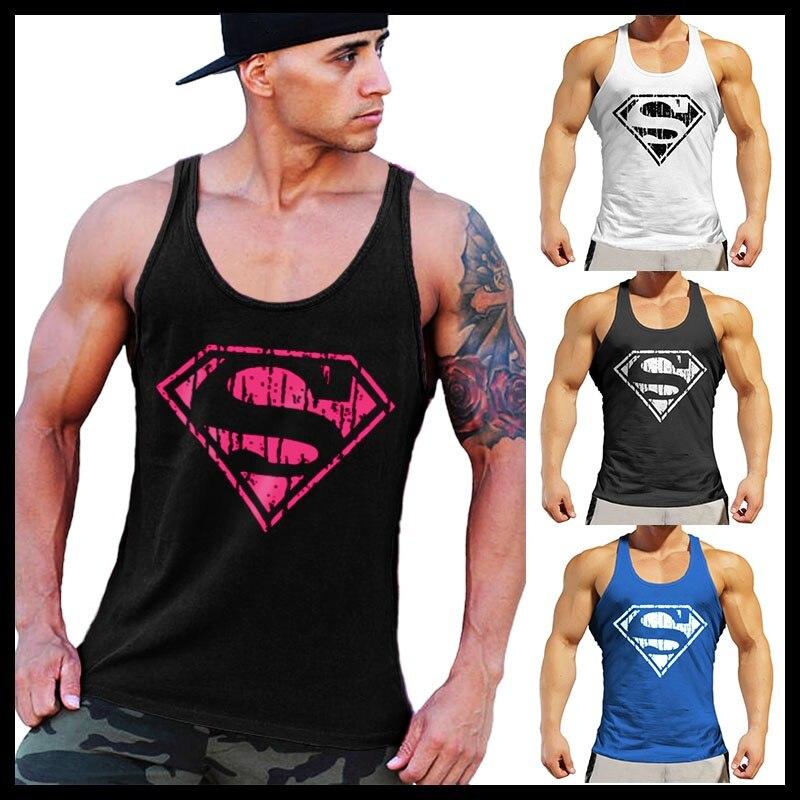 OA Men   Tank     Tops   Pink Vintage   Tanks   Gym Bodybuilding Stringer   Tank     Top   Vest Sportwear
