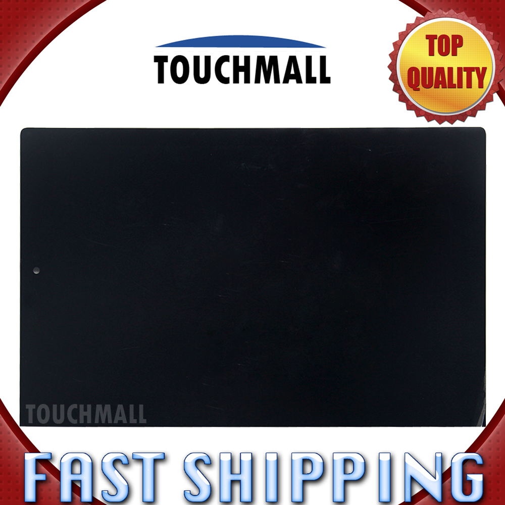 For New LCD Display Touch Screen Assembly Replacement Lenovo Yoga Tablet 2 1051 1051F 1051L 10.1-inch Black Free Shipping free shipping assembly display lcd