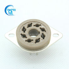 Free Shipping 10PCS GZC8 F1 new 8 pin tube sockets Plastic base suitable for KT88 6550