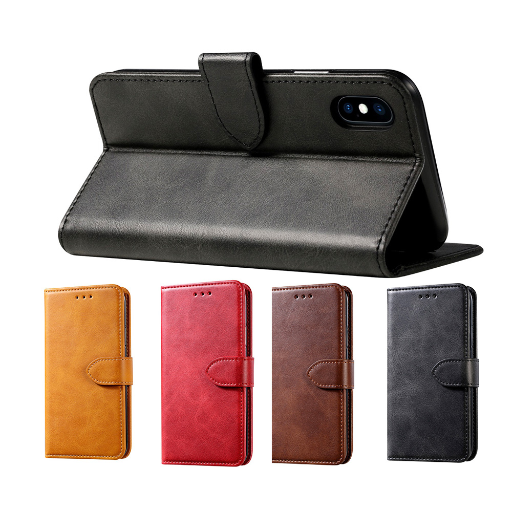 For Apple <font><b>iPhone</b></font> XS MAX XR X 5 <font><b>5s</b></font> SE 6 6S 7 Plus 11 Pro Max Leather Book Flip <font><b>Wallet</b></font> <font><b>Case</b></font> Soft Cover <font><b>Case</b></font> for <font><b>iPhone</b></font> X XS XR image