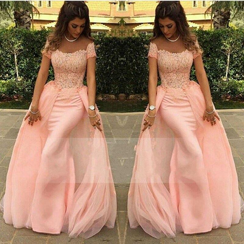 Lange kleider in rosa