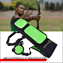 Hunting Archery Quiver Bow Arrow Quiver For t Hunting Compound Bow or Recurve Bow arrow Carbon Fiberglass Arrow bag цена