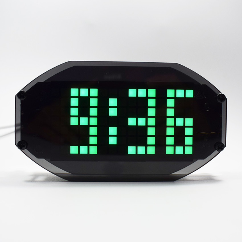 5V Speech Version 51 SCM Electronic Clock YD-030 DIY LED Clock Kits US
