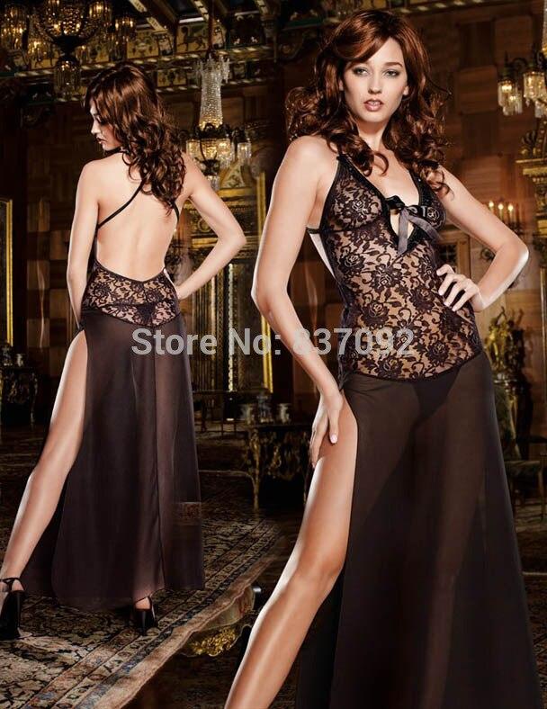 c38af505c2b 130CM Long Black Plus Size S M L XL XXL 2XL 3XL 4XL Lingerie ...