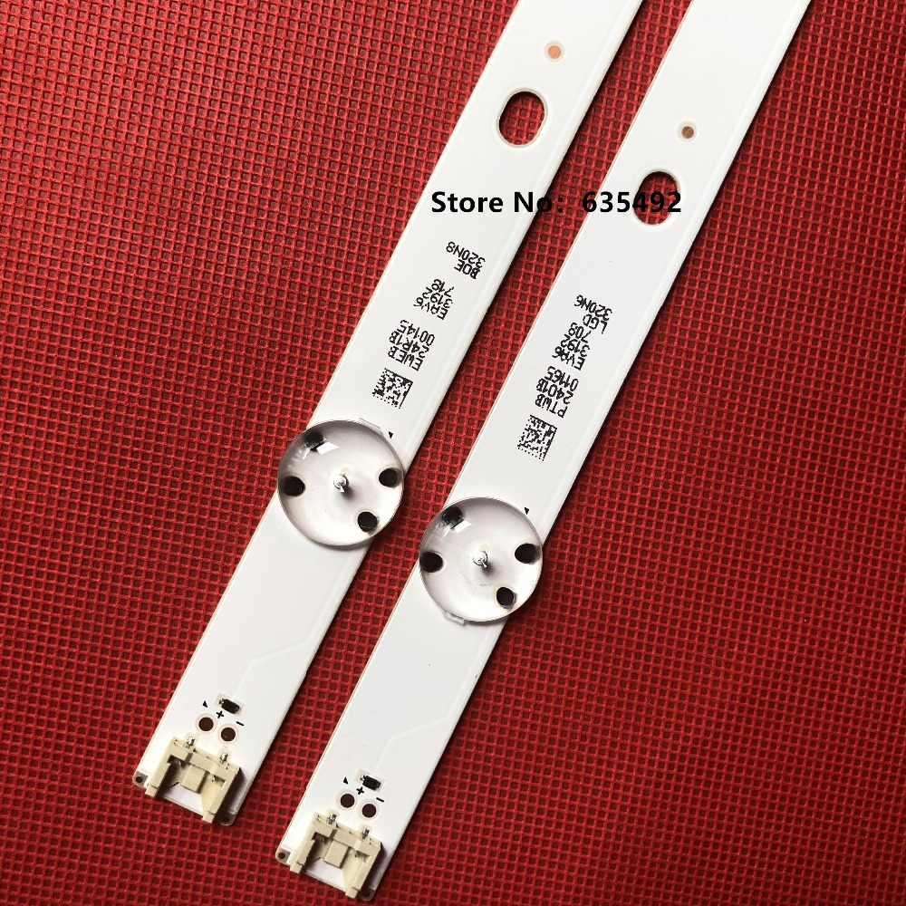 """Bộ 10 Đèn Led 5 Đèn Cho LG 32 """"TV SSC_32LJ61_BOE (FHD) EAV63632401 32LJ610V HC320DUN-ABSL1-A14X 32LF510B 32LH590U SVL320AL5"""