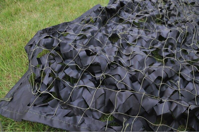Sunshade netting camo fabric black army netting hunting