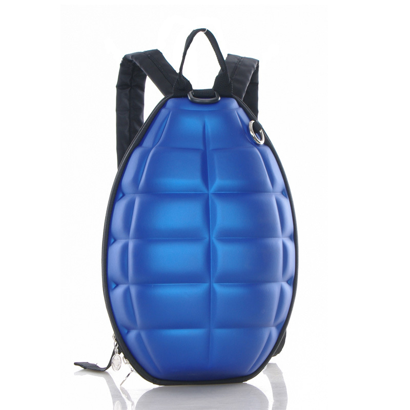Wholesale retail cool children s backpack creative grenade backpack grenade bags bomb shells men women shoulders