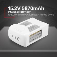 smart 15.2V 5870mAh  Spare Flight LiPo Battery Replacement Part for DJI Phantom 4 /Advanced/4Pro FPV Quadcopter RC Drone