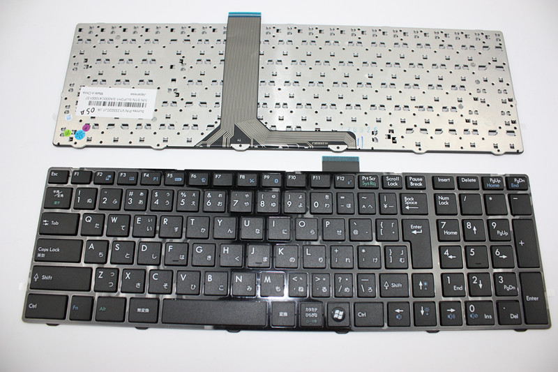 New Laptop keyboard for MSI MS-16GF GE70 GE60 MS-1759 MS-16SC ms-16gc  JP/Japaese layout ru russian for msi ge60 gt60 ge70 gt70 16f4 1757 1762 16gc gx60 gx70 16gc 1757 1763 backlit laptop keyboard
