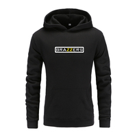 Brazzers Hoodies Hoody Sweatshirts Men Women Autumn Winter Streetwear Brand Fleece Jumpers Pullovers Man Clothing Tracksuits