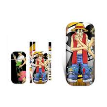 Anime One Piece Waterproof Protective Vinyl Sticker For IQOS 2.4 Plus 2.4p Skins Removable Adhesive Decorative Decal Sticker(China)