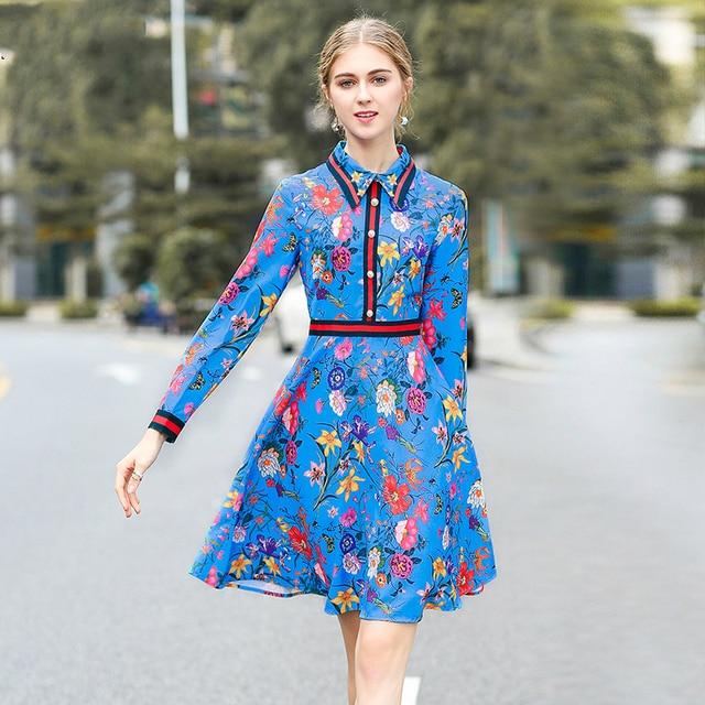 cb83dc4dd5 Europa 2018 Nova Primavera Lapela Três Quartos Cor Hit Grande balanço de  Impressão As Mulheres Se