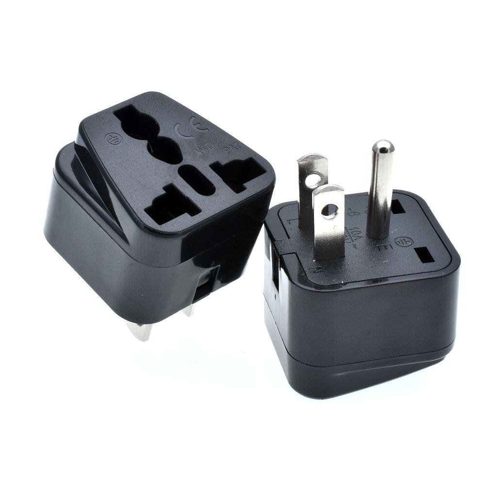 Uk To Thailand Travel Adapter Argos Mac Vga Adapter Cost Usb 3 0 Multi Adapter M 2 Nvme Ssd Pcie X4 Adapter: 10pcs Universal Travel Power Plug Adapter 3pin AU/UK/EU To