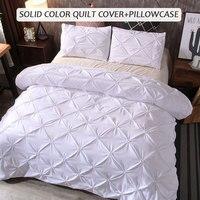 Bed Sheet Gift Home Hotel Bedding Sets Duvet Cover Luxury 3pcs Pillow Case New Polyester Fiber