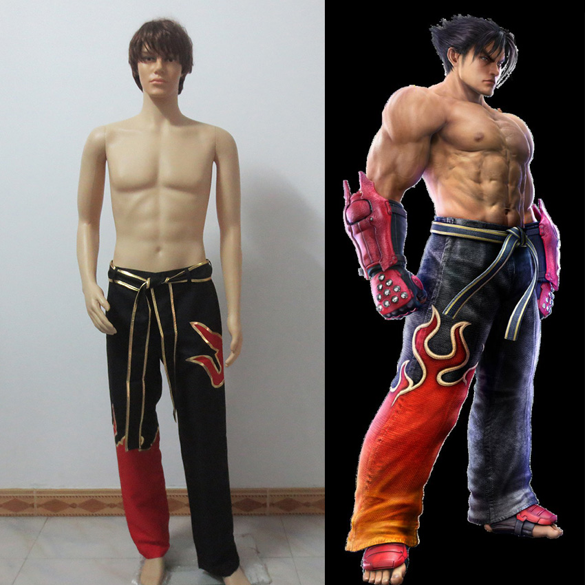 Tekken 6 Cosplay Jin Kazama Cosplay Costume Anime Custom